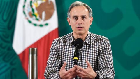''Tenemos una nueva vacuna en el horizonte'', anuncia López-Gatell