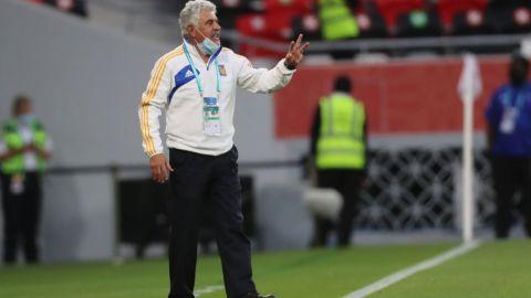 """Ferretti dice que Tigres """"está empapado"""" de todo sobre el Palmeiras"""