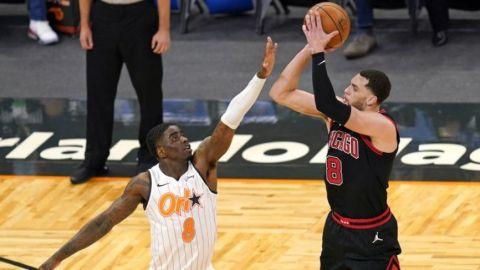 LaVine anota 39; Bulls apabullan a Magic