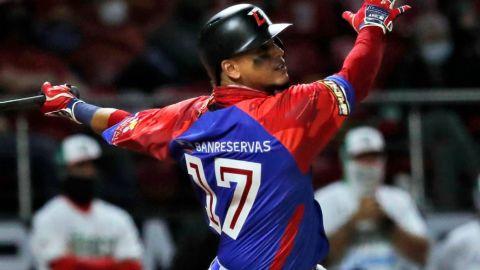Nivel de Juan Lagares en Serie del Caribe le da pase a Las Mayores