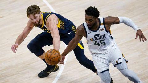Jazz vence a Pacers, sigue siendo el mejor de la NBA