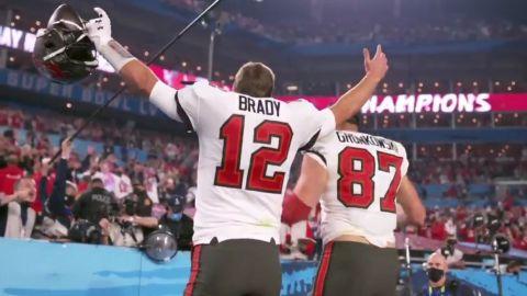 VIDEO: ¡Tom Brady consigue séptimo anillo! Los Bucs son Campeones del Super Bowl