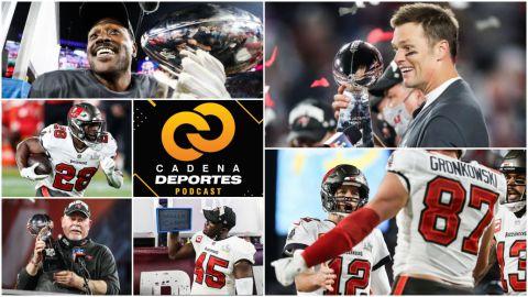 CADENA DEPORTES PODCAST: Los Tampa Bay Buccaneers ganan el Super Bowl LV