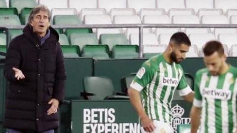 """La """"bronca"""" de Pellegrini con los detalles de su Betis"""