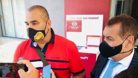 Nuevo frente judicial en la disputa que mantienen Domínguez y Chilavert