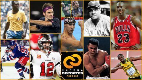 CADENA DEPORTES PODCAST: Dónde aparece Tom Brady entre los mejores deportistas