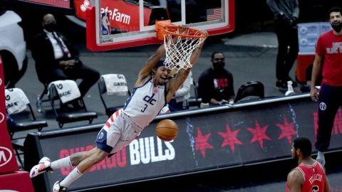 Wizards vencen a los Bulls, Westbrook descansa