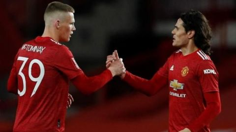 McTominey, en la prórroga, mete al United en cuartos