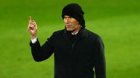 """Zidane: """"Los madridistas creen que podemos cambiar las cosas"""""""