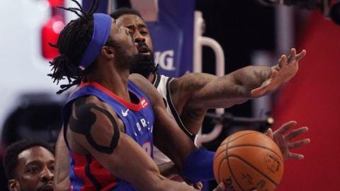 Pistons aprovechan ausencia de Durant; superan a Nets