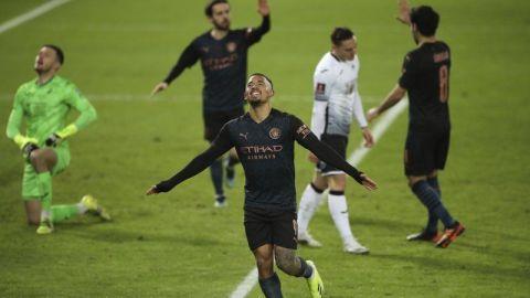 Man City en cuartos de Copa FA con 15ta victoria seguida