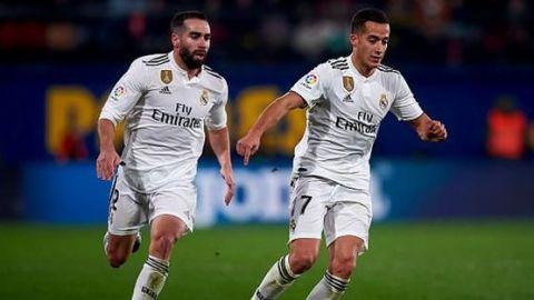 Real Madrid recupera a Lucas Vázquez y Carvajal