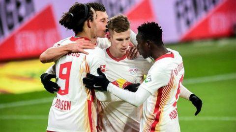El Leipzig y Dani Olmo persiguen al Bayern