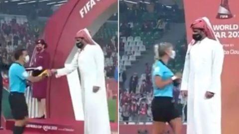 Dirigente de Qatar niega saludos a mujeres árbitro en Mundial de Clubes