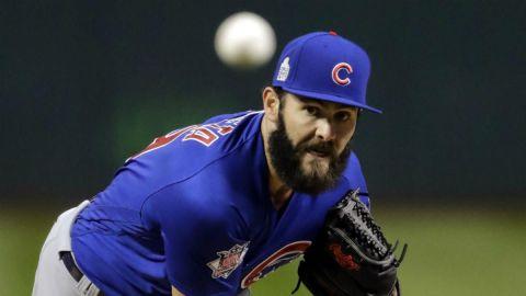 Jake Arrieta y los Cubs llegaron a un acuerdo para la camapaña 2021