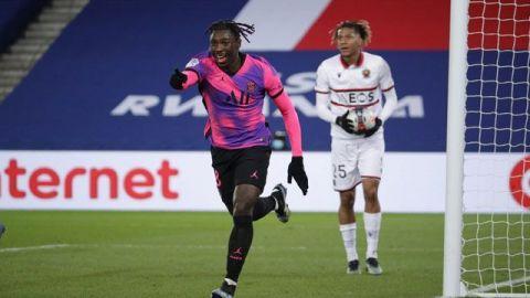Moise Kean saca al París Saint Germain del apuro