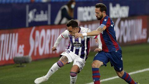 El Eibar y el Valladolid empatan en Ipurua en un partido sin hostilidades