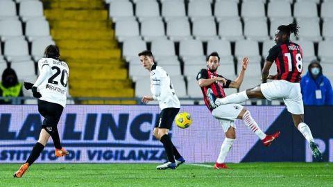 El Milan se estrella en Spezia y pone en peligro su liderato
