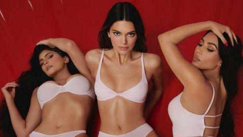 Kim, Kendall y Kylie, sexys para San Valentín