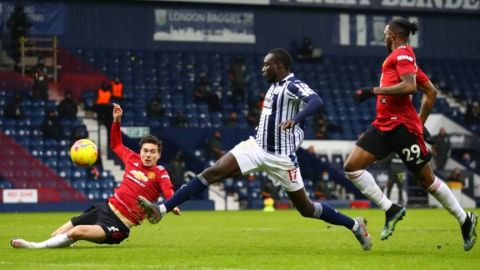 West Bromwich complica al Manchester United; terminaron empatados