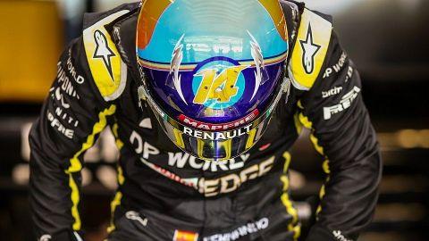 Fernando Alonso se dice listo para la temporada de F1