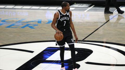 Durant se perderá los próximos dos juegos de los Nets por lesión