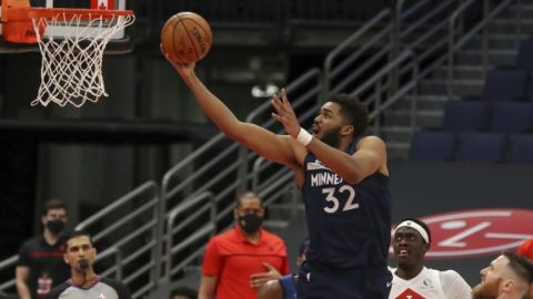 Wolves ponen fin a racha de 4 derrotas, vencen a Raptors