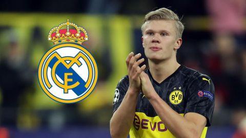 Real Madrid va con todo por Haaland