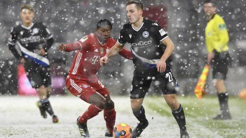 Bayern reaparece en la Bundesliga y empata con el Bielefeld