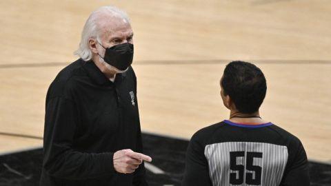 Posponen duelo de Spurs en Detroit por protocolos COVID