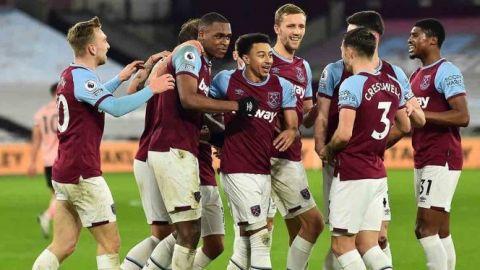 West Ham se mete a zona de Champions en la Premier