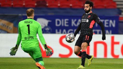 Liverpool toma ventaja ante Leipzig en la Champions