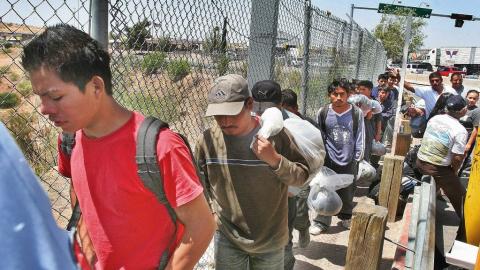 Organizaciones migrantes en EU van por reforma migratoria