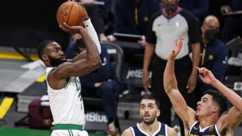 Brown anota 27 puntos; Celtics superan a Jokic y Nuggets