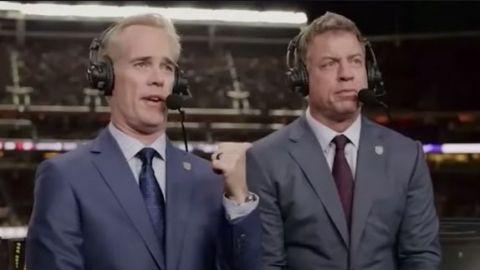 Comentaristas de Fox Sports bebieron tequila durante transmisiones de NFL