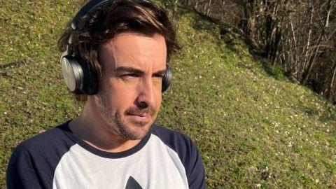 Alonso publica su primera imagen tras el accidente