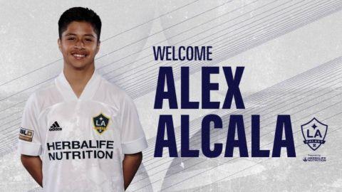 Futbolista mexicano de 15 años firma con el Galaxy
