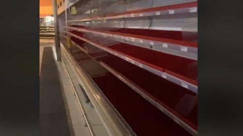 VIDEO: Desesperación en Texas, sin comida, por apagón