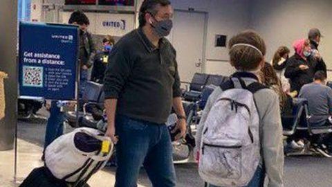 Ted Cruz, senador por Texas, viaja a Cancún en medio de tormenta invernal en EU