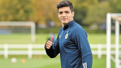 Jiménez vuelve a los entrenamientos del Wolverhampton tras fractura de cráneo