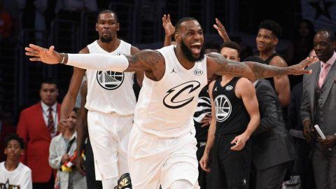 James otra vez capitán del Juego de Estrellas junto a Durant