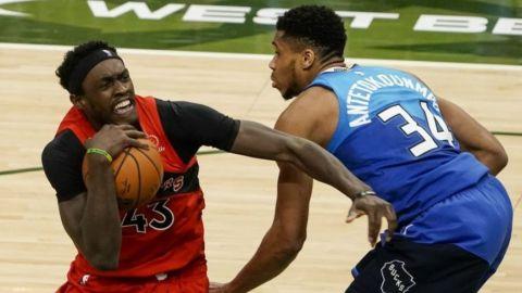 Raptors superan a Bucks, que han perdido cinco seguidos
