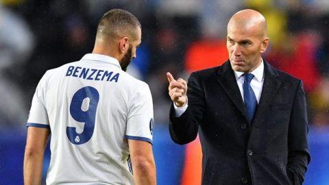 Zidane confirma la baja de Benzema ante Valladolid