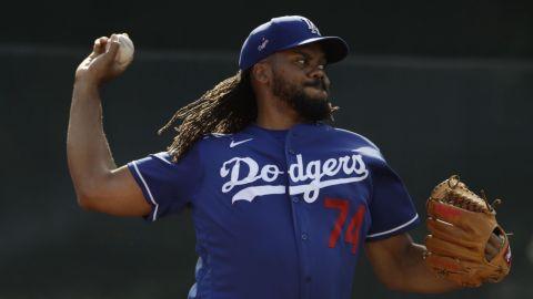 Kenley Jansen seguirá como el cerrador de los Dodgers... por ahora