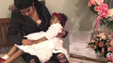 VIDEO: Mamá saca a su HIJA MUERTA del ataúd para ARRULLARLA por última vez