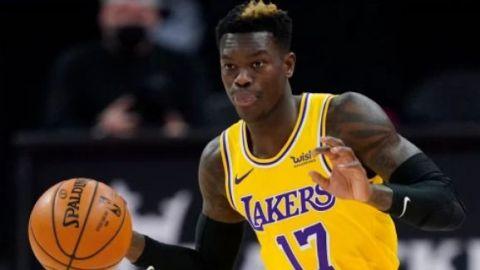 Dennis Schroder no jugará el sábado con los Lakers y no tiene fecha de regreso