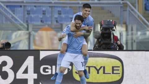 Lazio vence a Sampdoria y ocupa 4to sitio en Italia