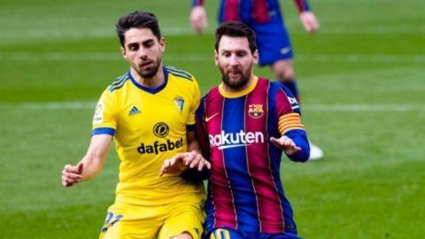 Cádiz le saca el empate al Barcelona en el Camp Nou