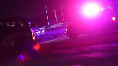 Fuerte accidente cobró la vida de una oficial de policía y su acompañante