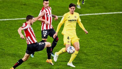 El Villarreal resiste el acoso del Athletic
